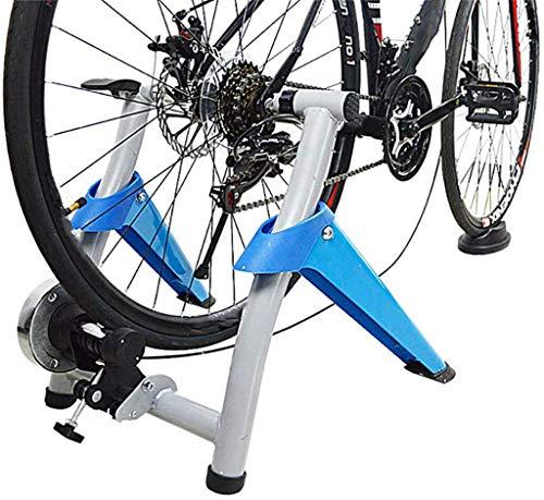 KAUTO Entrenador de Bicicleta de Interior Eexercise Soporte de Entrenador magnético para Bicicleta Las resistencias magnéticas le Permiten ejercitarse con su Bicicleta
