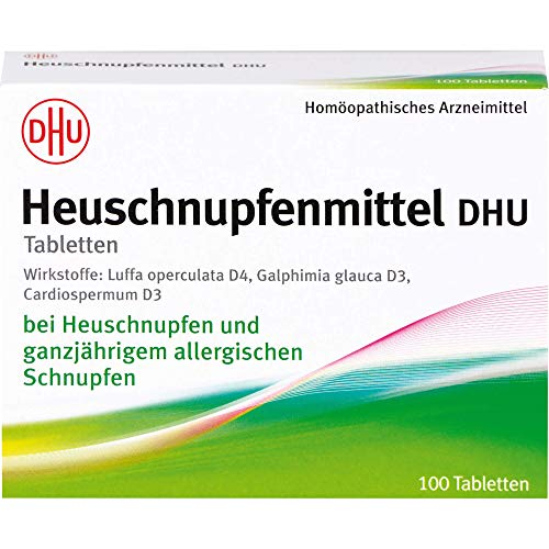 DHU Heuschnupfenmittel Tabletten, 100 St. Tabletten