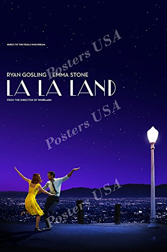 Posters USA - La La Land Movie Poster GLOSSY FINISH - MOV566 (24' x 36' (61cm x 91.5cm))