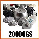 BCC BCCEUROSHOP® Super Detacher Imán 20000GS EAS Golf para Todas Las Etiquetas y Alarmas Display Key Detacher 20,000 GS Magnet 20000 Magnetic Hook Super Tag Detacher for All Tags