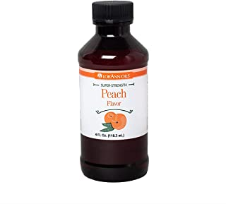 LorAnn Super Strength Peach Flavor, 4 ounce bottle