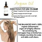 Pure huile d'argan - 100% biologique pour Cheveux, Peau, Corps, Cuticles et Ongles — Revitalisant pénétrant sans rinçage/Hydratant anti-âge et antirides 100 ml. #2