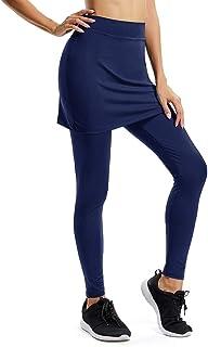 Women's Ankle Legging Inner Pocket Non See-Through Fabric