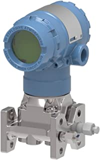 Rosemount 2051CD3A22A1AB4M5D4DFQ4 Coplanar Pressure Transmitter, –1000 to 1000 inH2O Differential Range, 100:1 Rangedown, ±0.065% of Span Accuracy