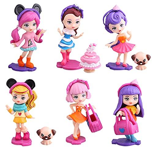TRRY LOL Decoración de Cumpleaños LOL Cake Topper Muñeca Sorpresa LOL, Regalos para Chicas, Niños y Bebés (12 unidades)