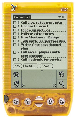 Buy Bargain Handspring Visor Deluxe (Orange)