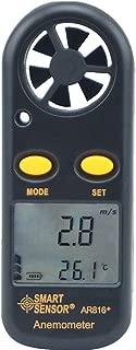 Hzikk Wind Speed Meter High Precision Portable Split Type Weather Flow Weathermeter
