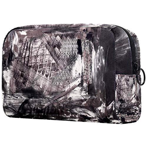 Bolsa de maquillaje personalizada para brochas de maquillaje, bolsas de aseo portátiles para mujeres, bolso cosmético, organizador de viaje dilatado casa