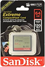 Sandisk Extreme CompactFlash Memory Card - 64 GB (SDCFXS-064G-A46)
