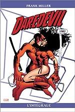 Daredevil l'intégrale 1982, tome 2 de Frank Miller
