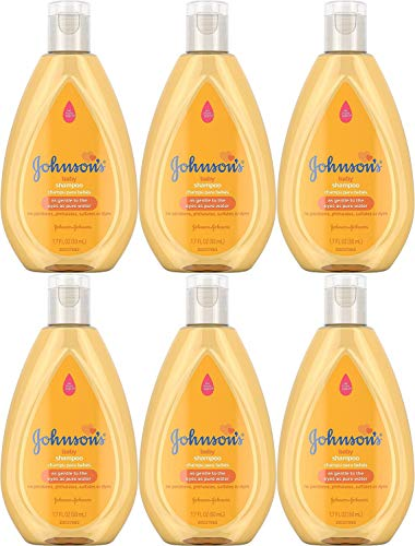 Johnson's Baby Shampoo, Travel Size, 1.7 Ounce (Pack of 6)