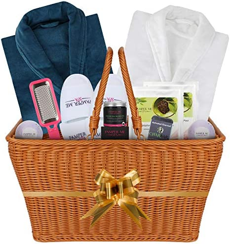 The I want to Impress You Couples Luxury Double Bath Spa Gift Basket for Women and Men Great product image