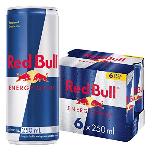 Red Bull – Original – 250 ml x 6 bottles – Energy Drink Can – Vitalized body and mind – Caffeine Content – Contains…