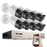 Camaras De Vigilanciazosi HD 8Ch CCTV System Set Full 1080P Dvr 4Pcs 2.0Mp 1920Tvl IR Outdoor Security Camera System 8 Channel Video Surveillance Kit
