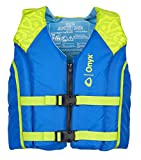 ONYX All Adventure Youth Paddle & Water Sports Life Jacket, Green