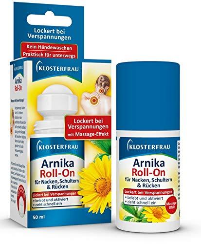 Klosterfrau Arnika Roll-On | gegen Verspannungen im Nacken, Schultern & Rücken | mit Massage Effekt | 50 ml