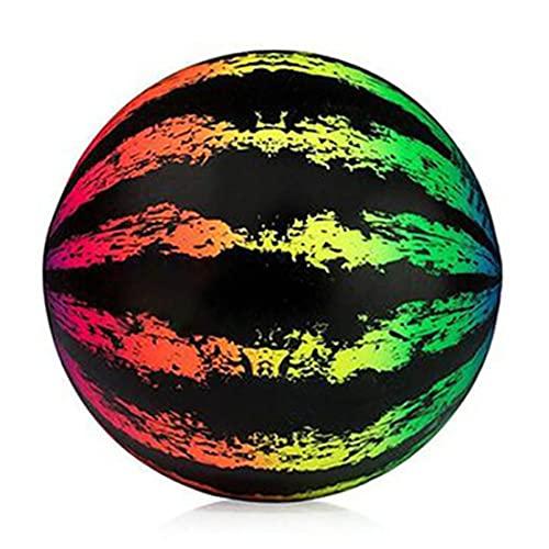 Schwimmbadspielzeug Unterwasser-Wassermelonenball, Poolspiel für Unterwasser-Passing-Ball, 9-Zoll-aufblasbarer Ball füllt Sich mit Wasser (Bunt)