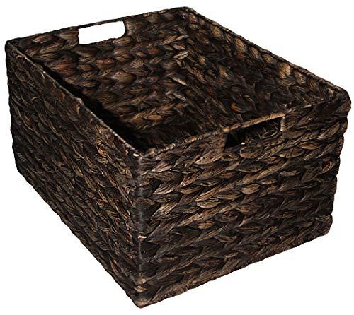 KMH®, Kleine Korb-Box Hugo aus geflochtener Wasserhyazinthe Farbe: braun (#204071)