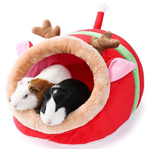 JanYoo piccolo animale domestico Gerbil riccio porcellino d'India, accessori per letto gabbia giocattoli...