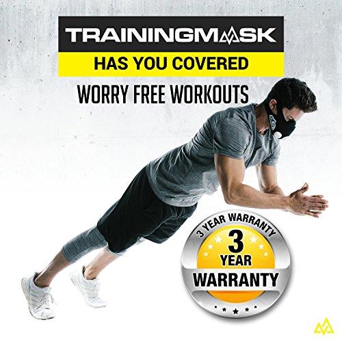 Elevation Training Mask Trainingshilfe Mas 2.0, schwarz, 70 – 110kg, 50-0151 - 5