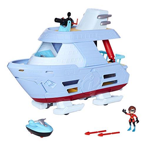 Incredibles 2- Set Barco Los Increíbles Accesorios, Multicolor (Jakks Pacific UK 76869-1-PLY)