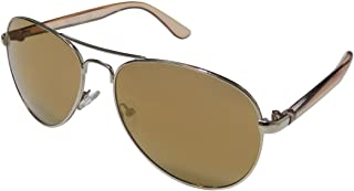 Kenneth Cole Unisex Aviator Sunglasses Brown 1278 32F 58 16 135 mm