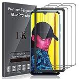 LK Pellicola Protettiva per Huawei P Smart 2019 / Honor 20 Lite/Honor 10 Lite Vetro Temperato,[3 Pezzi] [9H Durezza] Protezione Schermo Screen Protector [Strumento per Una Facile Installazione]