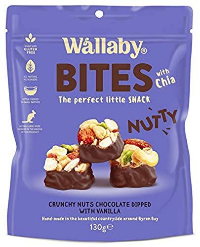 Wallaby Nutty Bites Vanilla Snacks, 130 g
