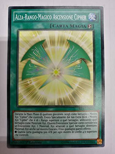 Non Solo Fumetto Yu Gi Oh! Alza-Rango-Magico Ascensione Cipher - Comune - MP17-IT210 ITALIANO