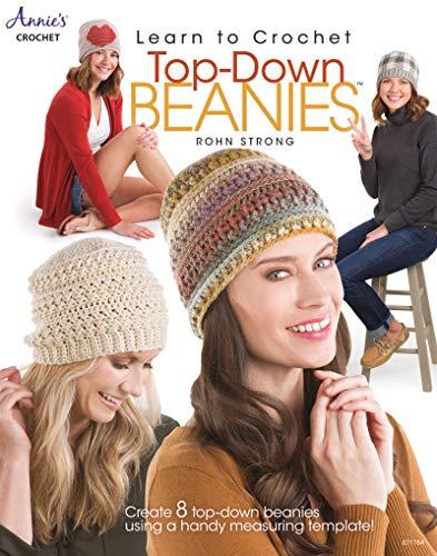 Learn to Crochet Top-Down Beanies