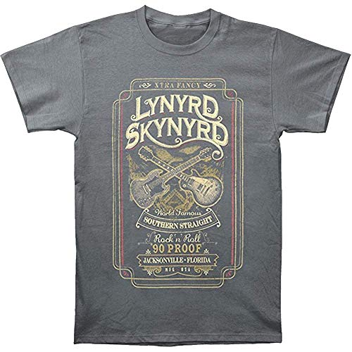 Lynyrd Skynyrd Men's Southern Straight T-Shirt Black