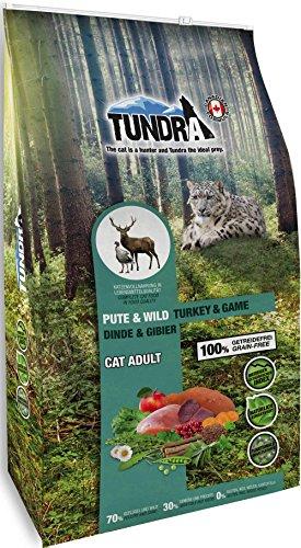 Tundra Cat Trockenfutter ( getreidefrei ) Pute & Wild - Turkey & Game (6,8 kg)
