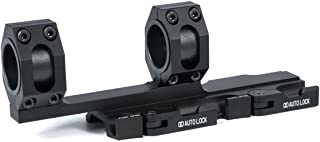 Green Blob Outdoors GBO (Extended) QD Scope Rings Mount Top Rail Extended 30mm - 1 inch Ring Tactical for Burris, Nikon, Leupold, Vortex, UTG, (Black)