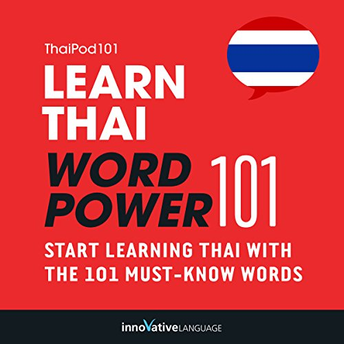 Learn Thai - Word Power 101 audiobook cover art