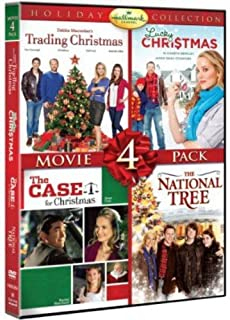 Hallmark Holiday Collection: Movie 4 Pack (Trading Christmas, Lucky Christmas, Case For Christmas, National Tree)
