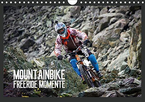 Mountainbike Freeride Momente (Wandkalender 2021 DIN A4 quer)