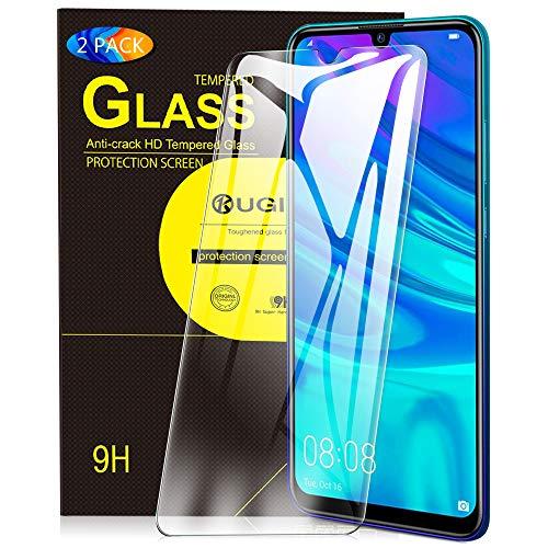 KuGi. Panzerglasfolie Schutzfolie für Huawei P smart 2019, Huawei P smart+ 2019 Panzerglasfolie Honor 20 Lite Panzerglasfolie passt für Huawei P smart+ 2019 Phone. Klar [2 Pack]
