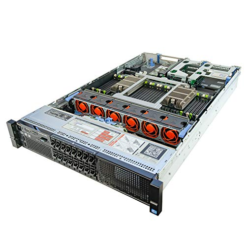 DELL PowerEdge R820 Server 4X 2.60Ghz E5-4650L 8C 192GB Energy-Efficient (Renewed)