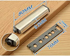 SHHOMELL New Magnetic House Furniture Cabinet Catches Cupboard Cabinet Door Push Open Door Drawer Amortisseur Touch Latch Pad Rebounder FTQ-A2