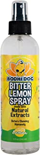 Bodhi Dog Bitter Lemon Spray Or Hot Spot Spray | Stop Biting and Chewing for Puppies Older Dogs and Cats | Anti Chew Spray Puppy Kitten Training Treatment | 100% Non Toxic | Made in USA