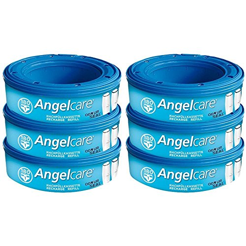Angelcare, recambios para papelera de pañales pack a elegir Talla:6
