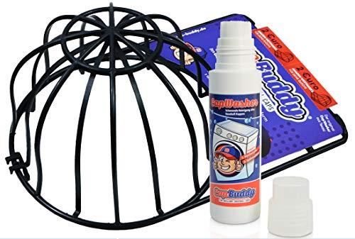 Cap Buddy & Cap Washer Baseball Cap Waschmittel DER Cap Reiniger Spülmaschine geeignet für alle Baseballkappen