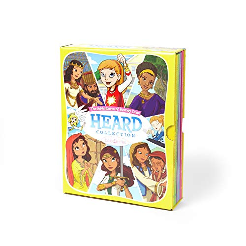 Bible Belles Christian Children's Book Set, The Adventures of Rooney Cruz Books, Bible Story Books, Christian Gifts for Girls, Age 4-10, Box Set of 5 Books