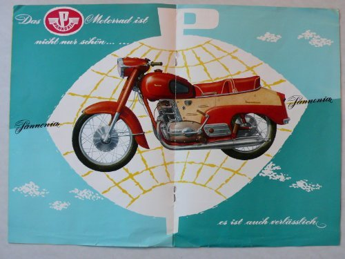 Prospekt/brochure - Pannonia 250 Motorrad TLF und TLD, Seitenwagen OK 3