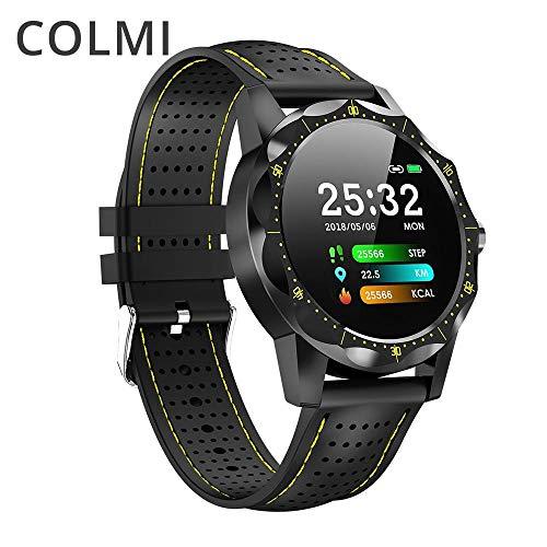 COLMI SKY 1 Smart Watch Herren IP68 Wasserdicht Aktivitätstracker Fitness Tracker Smartwatch Uhr Krempe für Android iPhone iOS Handy (SmartWatch)