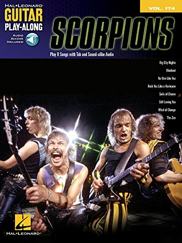 Guitar Play Along Volume 174: Scorpions: Noten, CD, Play-Along für Gitarre