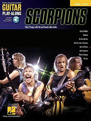 Guitar Play Along Volume 174: Scorpions: Noten, CD, Play-Along für Gitarre