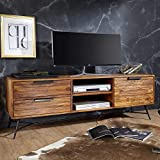 KADIMA DESIGN Lowboard Sheesham Massiv Holz HiFi Board Fernsehschrank Wohnzimmer