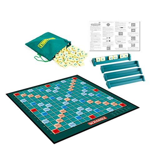 Scrabble Original, Juego De Mesa. Family & Friends- El Aprendizaje De Idiomas Niño En Edad Preescolar Juguetes Educativos