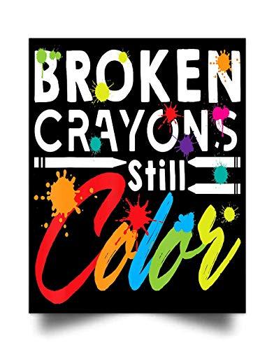Sophia Broken Crayons Still Color (17'x22') Wall Art Print Poster Home Decor